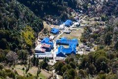 Ghorepani village in Nepal Royalty Free Stock Photography