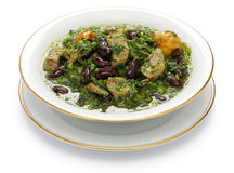 Ghormeh sabzi, Persian herb stew Stock Images