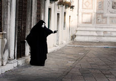 The ghost. Ghost at the carnival in Venice