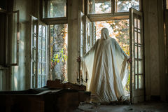 A ghost from abandoned house royalty free stock images