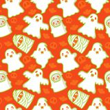 Ghost And Demon Pattern