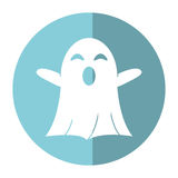 Ghost april fools day shadow Royalty Free Stock Images