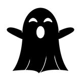 Ghost april fools s day pictogram Royalty Free Stock Photo