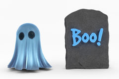 Ghost and Boo! Stock Photography