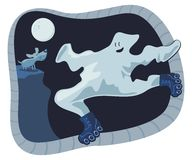 Ghost Cartoon Stock Photos