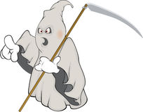 Ghost cartoon Royalty Free Stock Photo
