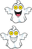 Ghost Character With Yellow Eyes Royalty Free Stock Photo