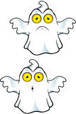 Ghost Character With Yellow Eyes Royalty Free Stock Photography