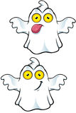 Ghost Character With Yellow Eyes Stock Image