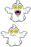 Ghost Character With Yellow Eyes Stock Images