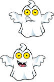 Ghost Character With Yellow Eyes Stock Photos