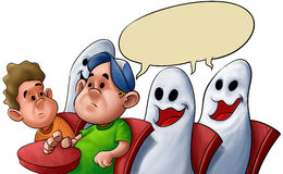 Ghost classroom Stock Image