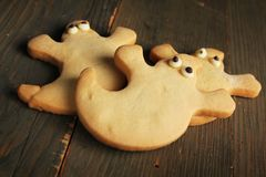 Ghost cookies Stock Photography