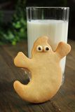 Ghost cookies Stock Photos