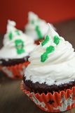 Ghost cupcake Stock Images