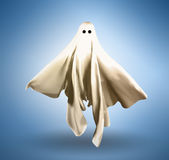 Ghost. 3d cloth shaped like a floating ghost Royalty Free Stock Images