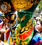 Ghost Dance Festival. Loei Thailand June 28, 2014 Royalty Free Stock Images