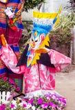 Ghost Dance. Phi Ta Khon Festival, Loei, Thailand on 28 June 2014 Royalty Free Stock Image