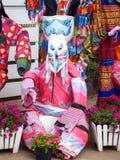Ghost Dance. Phi Ta Khon Festival, Loei, Thailand on 28 June 2014 Stock Image