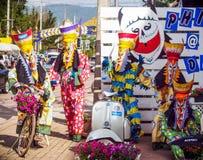 Ghost Dance. Phi Ta Khon Festival, Loei, Thailand on 28 June 2014 Stock Photo