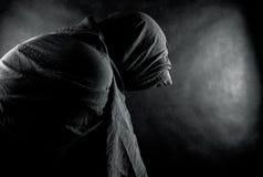 Ghost dans l'obscurité Images stock