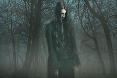 Ghost dans le brouillard photo stock