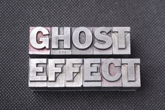 Ghost effect bm Stock Images