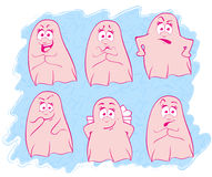 Ghost emotion Royalty Free Stock Photos