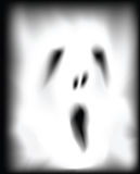 Ghost face Royalty Free Stock Photo