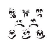 Ghost fait face, des visages de potiron Image libre de droits