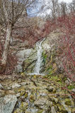 Ghost Falls in Spring Stock Photo