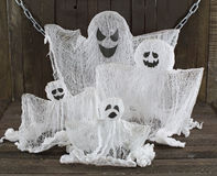 Ghost family Stock Images