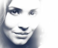 Ghost. Fantastic female portrait. For your design Royalty Free Stock Photo