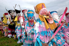 Ghost festival in Thailand. royalty free stock images