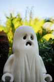 ghost figure for halloween and palm tree Royalty Free Stock Photography