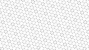 Ghost géométrique blanc cube le fond abstrait Photo libre de droits