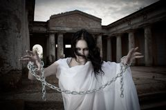 Ghost girl Royalty Free Stock Photography