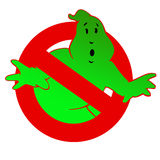 Ghost green Stock Photography