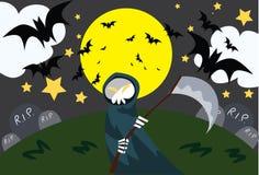 Ghost on halloween Stock Image