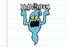 Ghost for Halloween Royalty Free Stock Photography