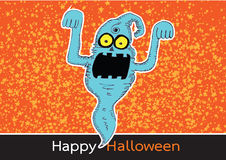 Ghost for Halloween Royalty Free Stock Images