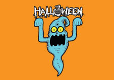 Ghost for Halloween Royalty Free Stock Photos