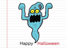 Ghost for Halloween Stock Image