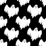 Ghost Halloween seamless pattern Royalty Free Stock Photography