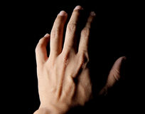 Ghost hand Royalty Free Stock Photography