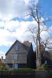 Ghost house. House of seven gables in Salem, Massachusetts Stock Image