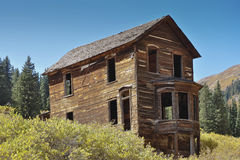 Ghost House Animas Forks Colorado Royalty Free Stock Images