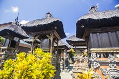 Ghost houses in the Hindu temple, Bali Indonesia Stock Image