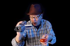 Ghost hunter Stock Images