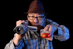 Ghost hunter Stock Photography